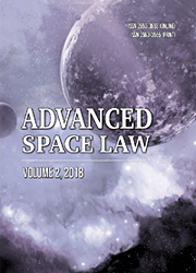 Advanced Space Law journal, vol 2