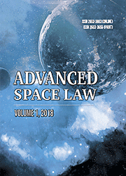 Advanced Space Law journal, vol 1